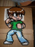 Scott Pilgrim Bead Sprite 1 by CatboiBlues