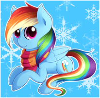Winter Dashie~ by Agletka