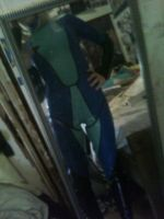 Samus Cosplay Plug Suit!-Front Side View by sasukelove207
