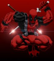 Deadpool Colored by m3gadude