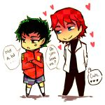 American dragon Jake Long: cute lover by Washichan