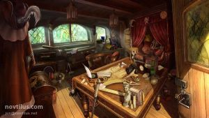 Hidden Object scene 02 by novtilus