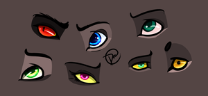 Eye Practice by Justpeacheyy
