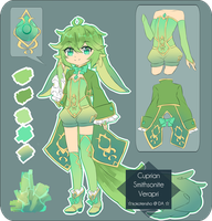 Cuprian Smithsonite Verapri Auction [CLOSED] by KokoTensho