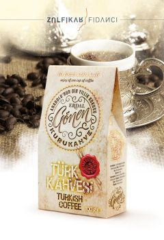 Turkish Coffee Packaging Design by byZED