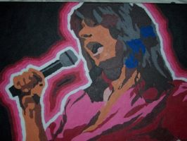 Steve Perry Idolized by ksavager
