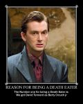Death Eater reason number one by SnakeMorte
