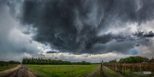 Autumn showers, thunderstorms by NorbertKocsis