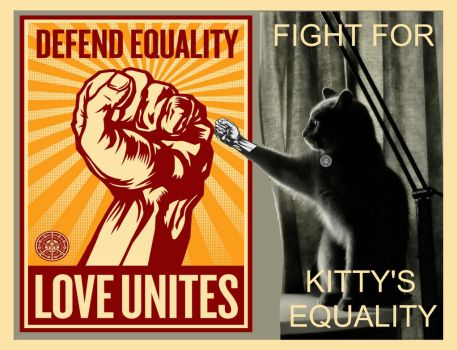 Kitty's equality by soulappart