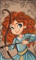Merida Speedpaint by sharkie19