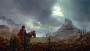 On the road to the capital by Silberius