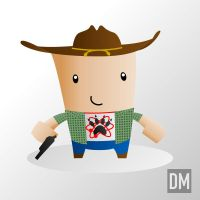 Carl Grimes by DanielMead