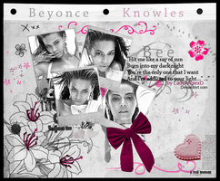 Beyonce Layout by LadyAngiexD