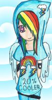 Rainbow Dash by rainbowdashcupcake