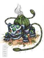 Steam-Powered Pokemon: Bulbasaur by jbrenthill