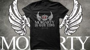 Moriarty Is Our King by fudgemallow