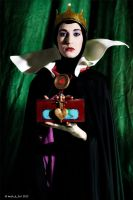 Evil Queen Grimilde: Put her heart here!!! by Bewitchedrune