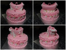 Handbag cake by JankaArt
