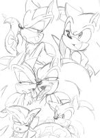 Sonic Naga Doodles.5 by Narcotize-Nagini