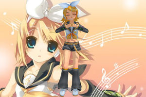 MMD Official Newcomer PL2 Rin by Anime-Base-Creator