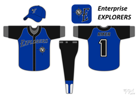 Enterprise Baseball Uniform by BJ-O23