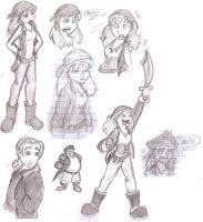 Oodles of Doodles 2 Pirates by Aaron-Smiley