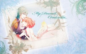 Ai and Haruka: Cinderella Wallpaper by ArtLover57