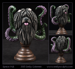 Commission : Space Puli by emilySculpts