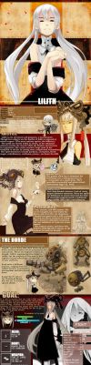 LoT: Lilith Reference Sheet. by Endling