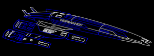 Normandy SR-2 Vector Outline by Jigg007