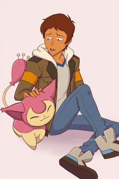 Lance and Skitty by JE3
