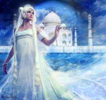 Neo Queen Serenity-The Moon by kaminary-san