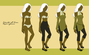 AoH - Calanthe clothing ref by starry-tip