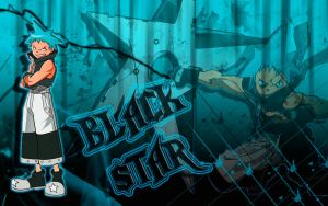Black Star Wallpaper by XIMEN-ALE