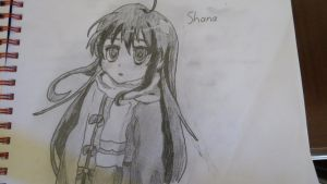 Shana Sketch by B1itzsturm