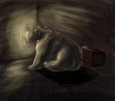 Speed Painting:the hidden bear by gomas-sketches