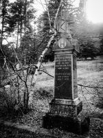 Headstone from Galena by FaithlessIlladoreYou