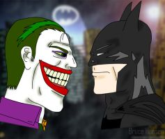 Gotham Laughs by ArchaicAgonistiV