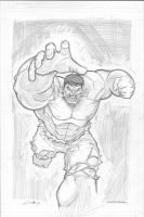 Hulk sketch by c-crain