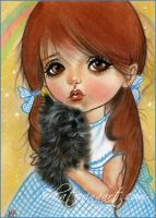 Dorothy and Toto by Katerina-Art