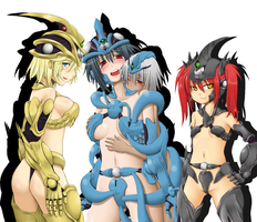 4 chicas by alkan009