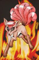 Vulpix by Eeveetachi