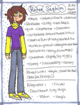 .:Rater (1994) Reference Sheet:. by PrennCooder