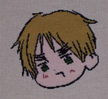 England Cross Stitch by chujo-hime