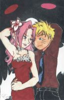 Narusaku Dance With Me by E-vay