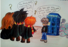 Request: Harry potter n Dr.who by goldenEden