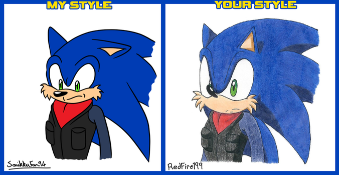 My Style / Your Style Meme (Sonic Nova) by RedFire199-S