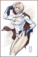 Power Girl by diablo2003