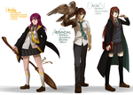 When You Stuff Yo OCs in the Potterworld by Aikobo
