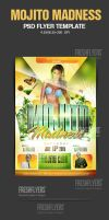 Mojito Madness PSD Flyer Template by ImperialFlyers